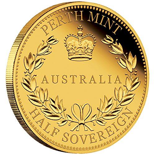 - 2016 AU Australia Half Sovereign Proof Coin Gold Brilliant Uncirculated