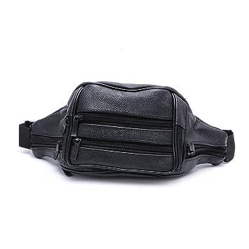 4f6c553877e4 Amazon.com : Best-topshop Leather Waist Bag with Zipper for Women ...