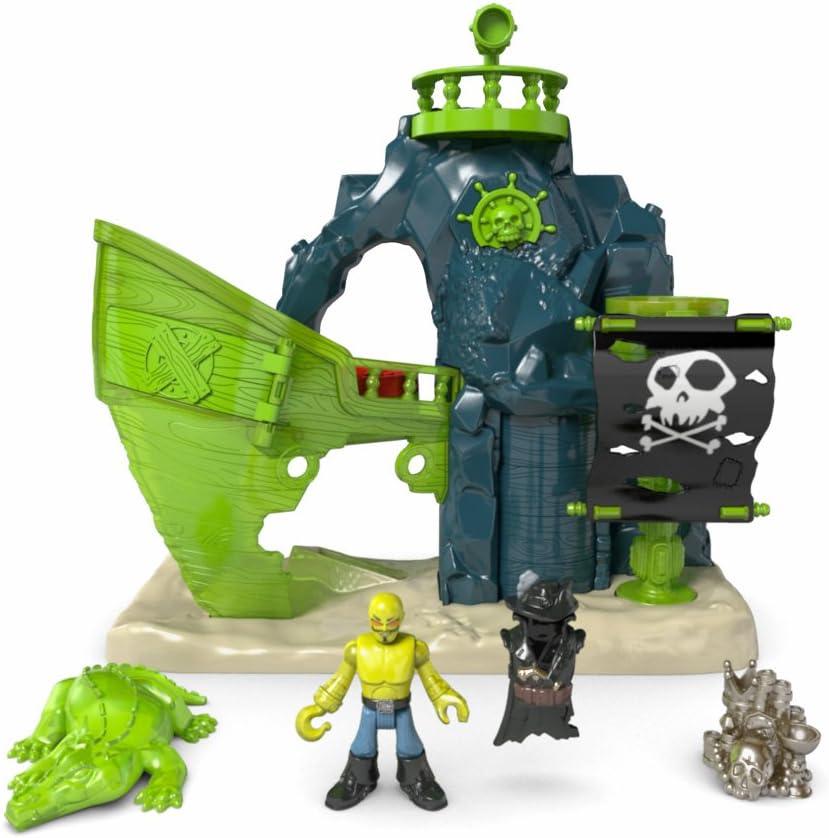 Fisher Price Imaginext Ghost Pirate and Phantom Octopus Guard Neuf Mattel b9775