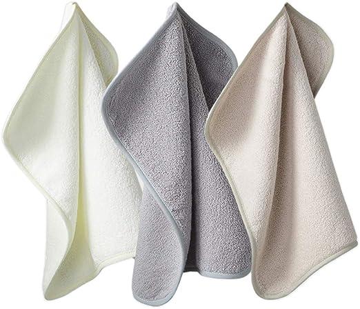 HUI JIN - Pañuelo de algodón para el hogar (3 Unidades): Amazon.es ...
