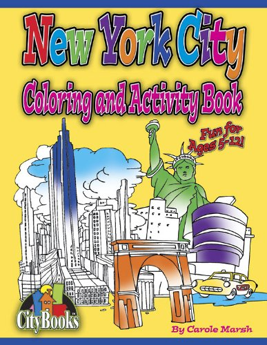 New York City Coloring and Activity Book (City Books)