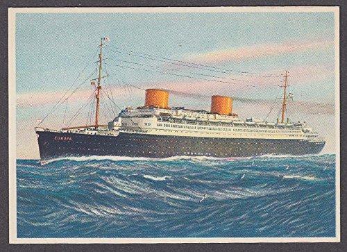 Norddeutscher Lloyd Bremen ocean liner