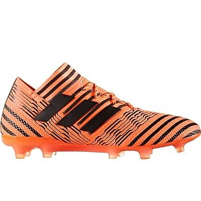 b3d9626dbd3 adidas Nemeziz 17.1 FG Cleat - Men s Soccer 7 Solar Orange Core Black Solar