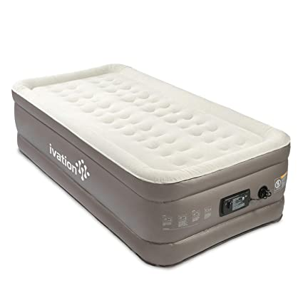 Amazon Com Ivation Premium Comfort Inflatable Air Mattress Twin