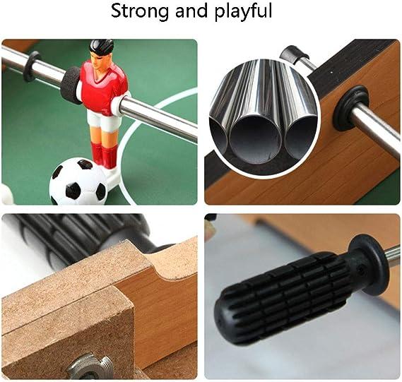 Mesa De FutbolíN De Mesa, Mini Mesa PortáTil De FúTbol/Juego De FúTbol con Dos Bolas Y Puntaje para Adultos Y NiñOs (FúTbol) Juego De Juego: Amazon.es: Deportes y aire libre