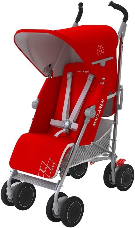 Maclaren Techno XT - Silla de paseo, color Cardinal/plata: Amazon ...