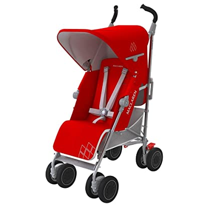 Amazon.com : Maclaren WM1Y070072 Techno XT Cardinal, Silver/Red : Baby