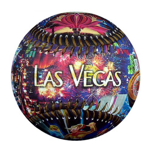 EnjoyLife Inc Las Vegas By Night Souvenir (Souvenir Baseball)