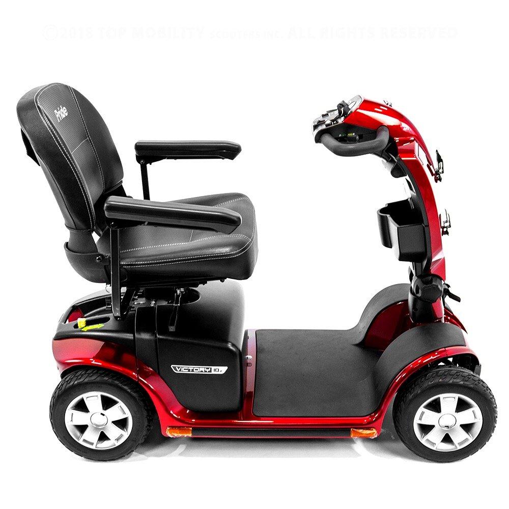 Amazon.com: Victory 10,2 Red Pride Movilidad 4-Wheel Scooter ...