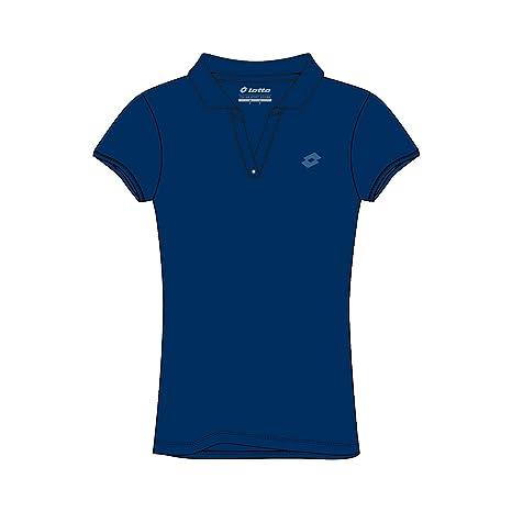 Lotto L73 Polo STC W - Polo, Mujer, Azul(BLU CLG): Amazon.es ...