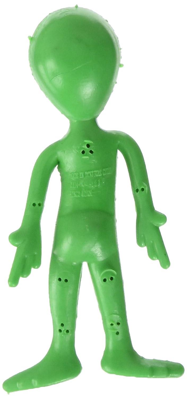 1 Dozen Bendable Alien Toys Rhode Island Novelty 097138619785 Multicolor One Size SLBENAL