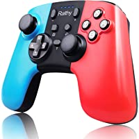 Ralthy Wireless Pro Controller for Switch/Switch Lite, Supports Gyro Axis, Turbo and Dual Vibration