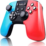 Ralthy Wireless Pro Controller for Switch, Extra Controller Gamepad Joystick for Switch Controllers, Supports Gyro Axis, Turb