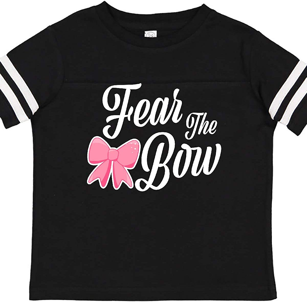 inktastic Cheerleading Fear The Bow White Toddler T-Shirt
