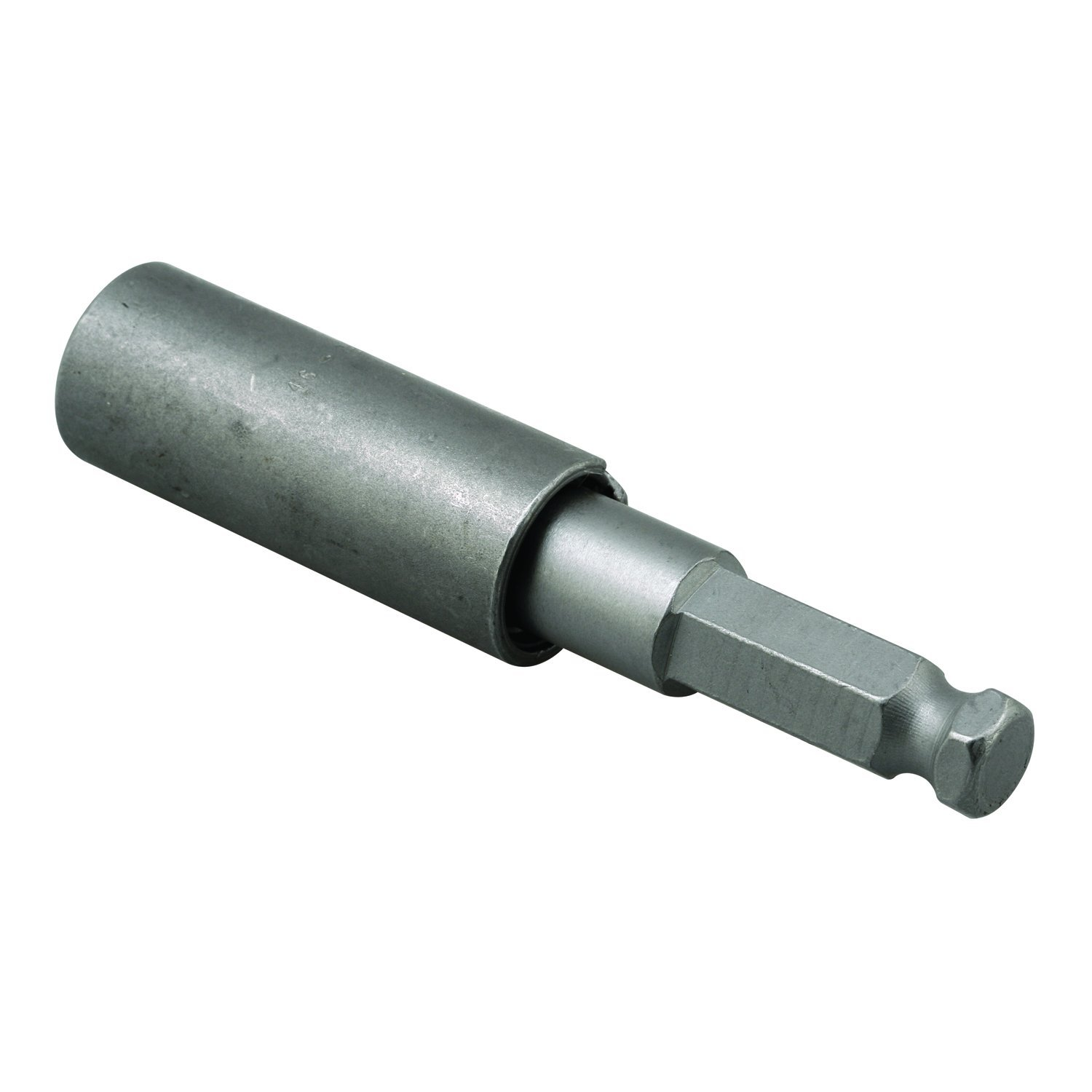 Prime-Line Products PH 17118 Jumbo Slotted Bit, 9/16'' x 3-11/16 In, Steel, Mill Finish, One-Way Slotted