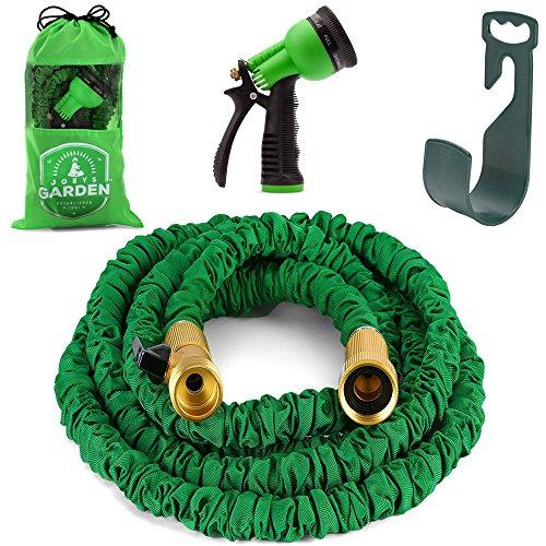 Amazoncom Joeys Garden Expandable Garden Hose with Nozzel
