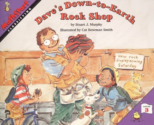 Dave's down-to-earth rock shop (Turtleback School & Library Binding Edition) (Mathstart: Level 3 (Prebound)) PDF
