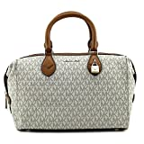 Michael Kors Grayson Large Converstible Signature Satchel - Vanilla