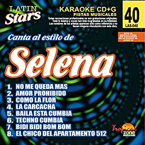 Latin Stars - Selena (Karaoke CDG)