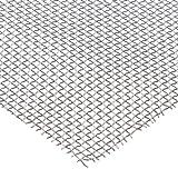 Aluminum Woven Mesh Sheet, Unpolished