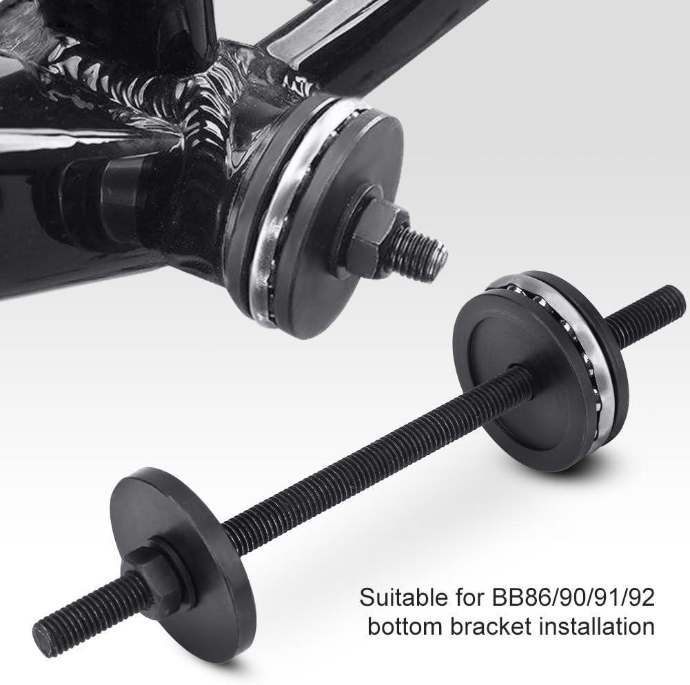 Aosiyp Bike Headset Tool Bottom Bracket Install Cap Bike Headset Cup Press Set Durable Bicycle Bottom Bracket Bearing Press Installation Tool