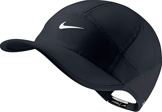 official photos ee9b8 52a9e Amazon.com  Nike Womens Featherlight 2.0 Cap Purple Haze Black White One  Size  Clothing
