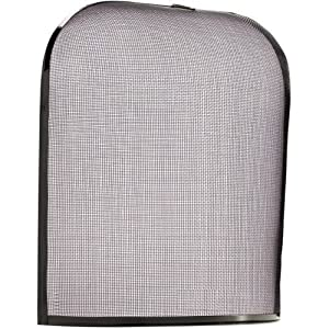 Small Dome Fire Guard Screen Metal Panel Fireguard For Fireplace