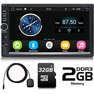 Panlelo S1 Android 2 DIN Universal 7 Pulgadas Car Stereo ...