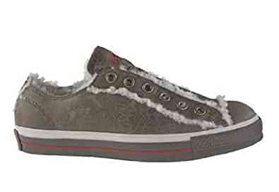 57b1ed583489 Converse Chuck Taylor All Star Shearling Slip Brown Mud Leather men s 5   women s 7