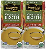 Imagine Organic Low Sodium Vegetable Broth, 3 pk./32 oz.