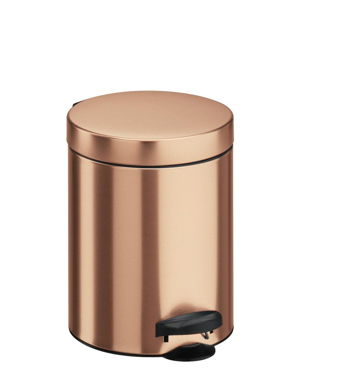 Gold Metall 18.6/x 18.6/x 24.1/cm Meliconi 14004703900/Abfalleimer Stahlblech mit Eimer