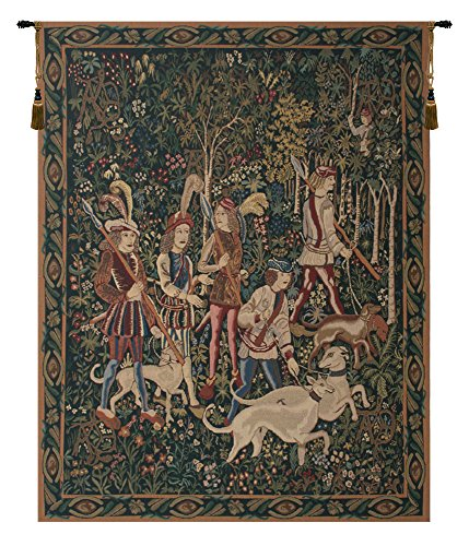Unicorn Hunt with Border Belgian Tapestry for sale  Delivered anywhere in USA