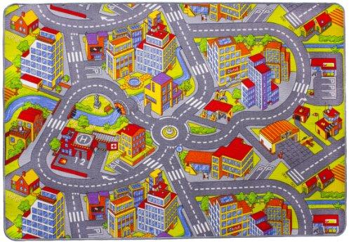 misento 293303 Kinder- / Spielteppich Straße, 140 x 200 cm