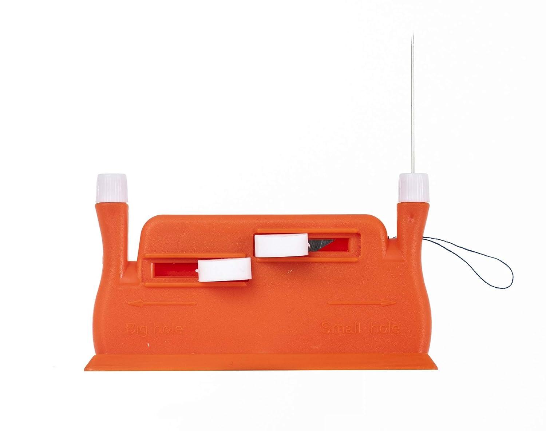 Color Verde Enebradoras Hilo para M/áquina de Coser Annote Enhebrador de Agujas Autom/ático Enhebrador Autom/ático Kit de Costura Profesional Agujas de Coser a Mano Incluidas