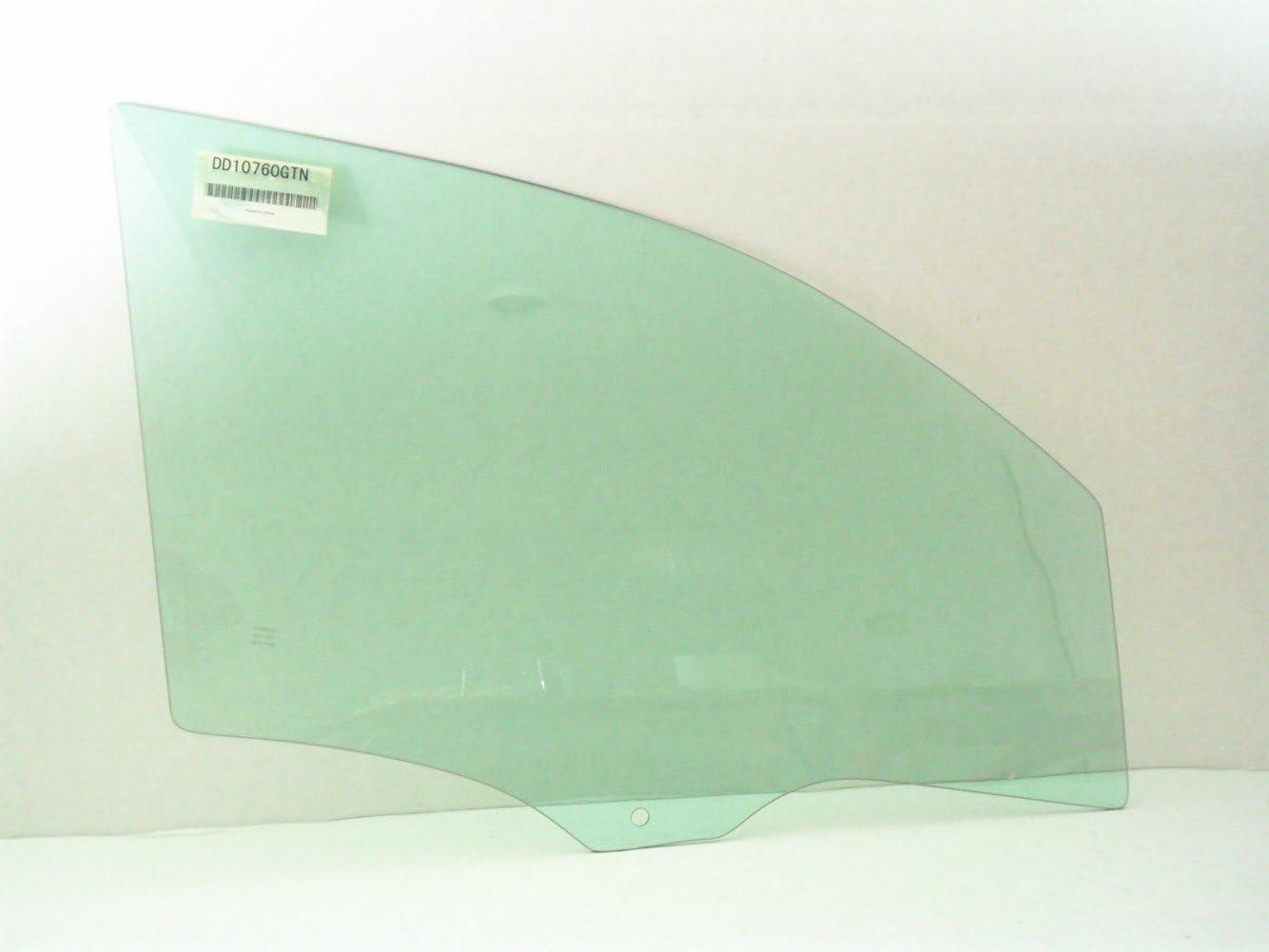 NAGD for 2005-2009 Chevrolet Equinox 2006-2009 Pontiac Torrent Passenger//Right Side Rear Door Window Replacement Glass