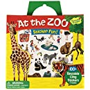 Peaceable Kingdom Sticker Fun! At the Zoo Reusable Sticker Tote