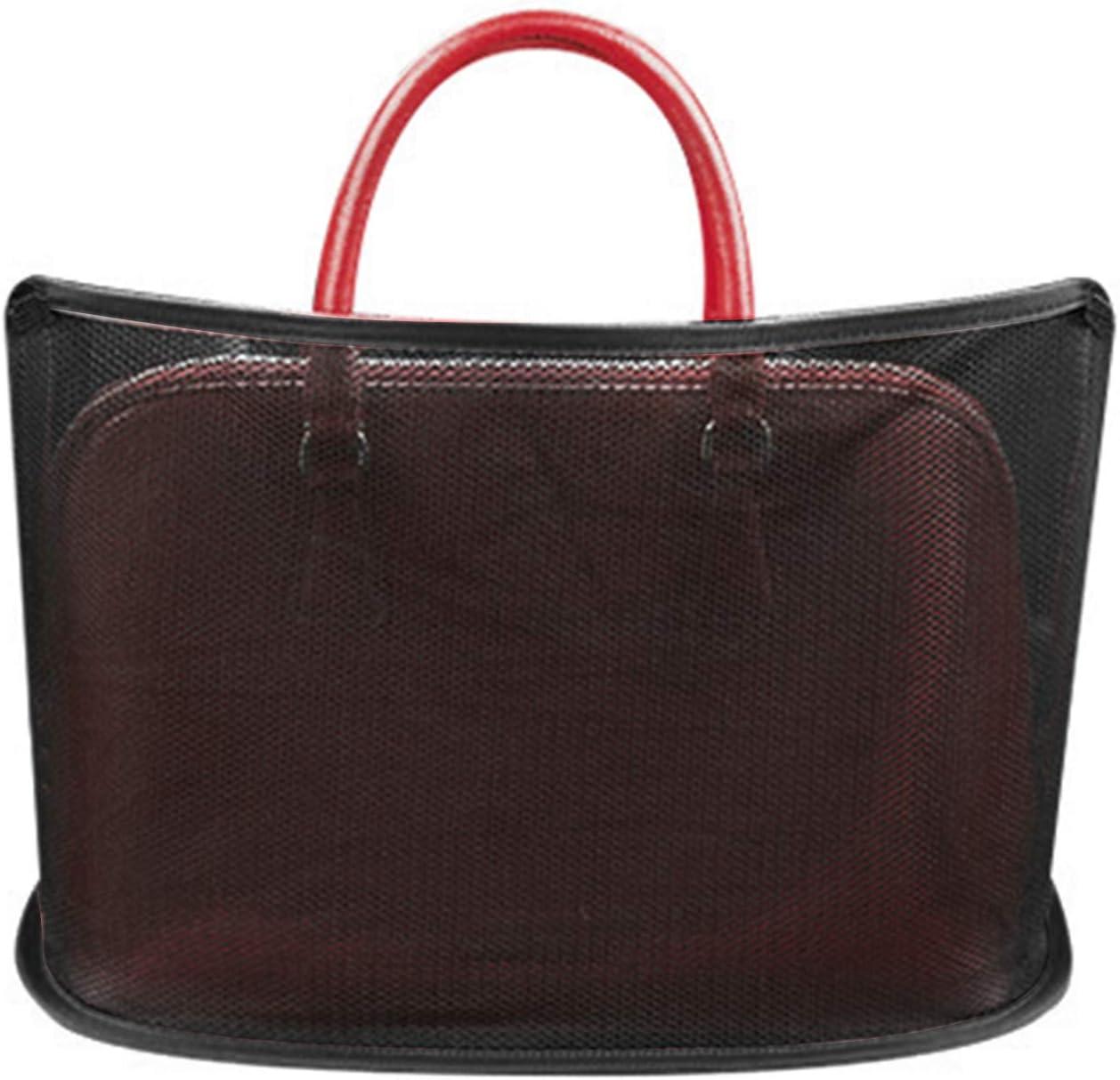 Universal Car Seat Storage Mesh//Organize for Handbag Bag Documents Phone Valuable Items Car Net Pocket Handbag Holder Upgraded Car Seat Storage Net Bag for Car