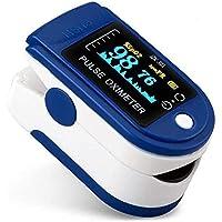 Oxímetro y Pulsómetro para Monitoreo de Saturación de Oxígeno y Latidos por Minuto con Pletismografía Saturación de…