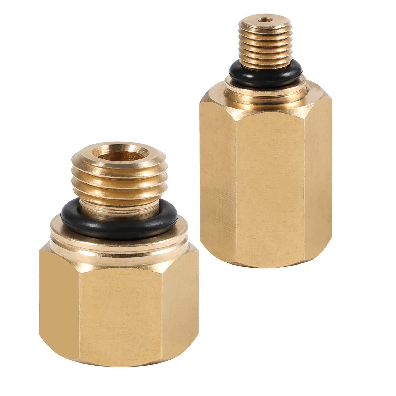 Vincool Ford 6.0L Engine High Pressure Oil Rail Pump Adapters Leak Test Kit (Fuel Rail)