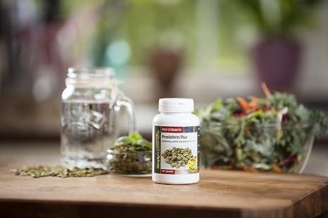 Prostaform plus - 180 cápsulas - Hasta 6 meses de suministro - Para la salud masculina y de la próstata - SimplySupplements: Amazon.es: Salud y cuidado ...