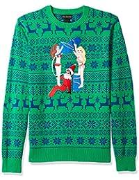 Men's Drunk Elf Ugly Christmas Sweater