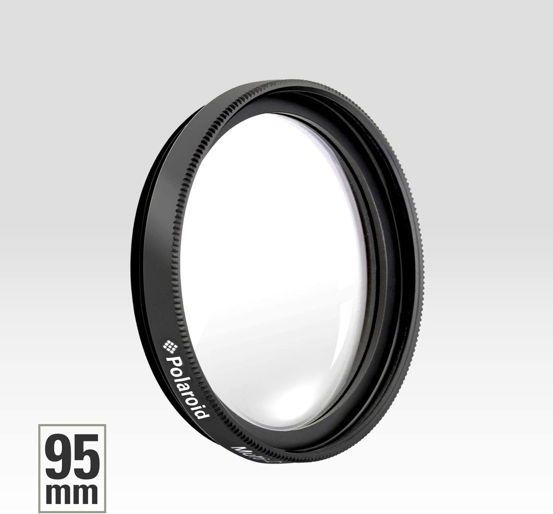 Improves Images /& Shields Lens from Atmospheric Damage Slim Multi-Coated Glass Protective Ultraviolet Filter Absorbs Haze Polaroid Optics 95mm UV Filter