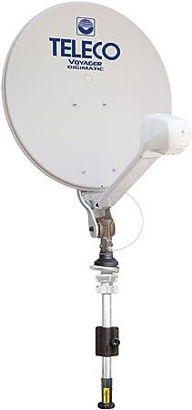 Antena parabólica tv satélite caravana autocaravana Voyager ...