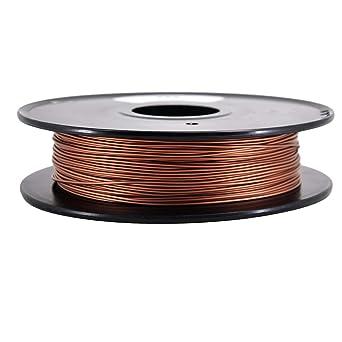 PINRUI filamento de impresora 3D de cobre y metal, 1,75 mm ...