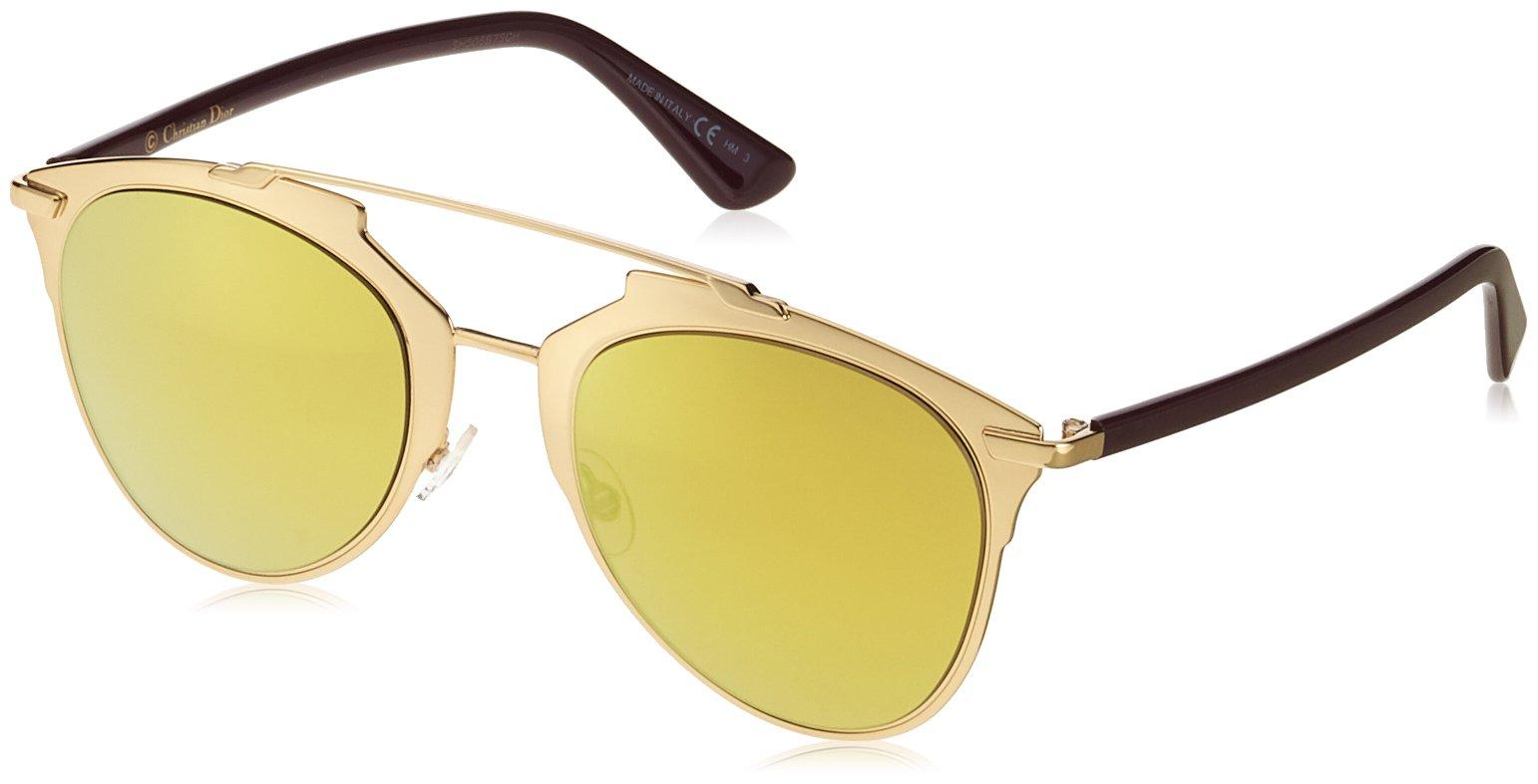 f13c1c22e258 Christian Dior Dior Reflected YC2K1 Gold/Plum Reflected Pilot Sunglasses  Lens