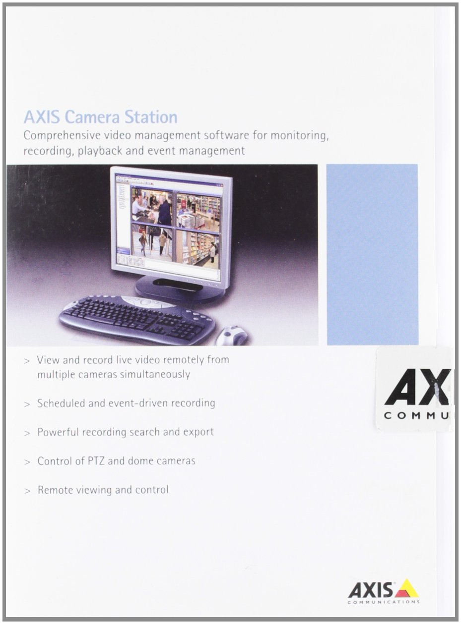 Axis Camera Station Base Pack 4 Channels - video software