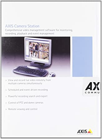 Axis Camera Station Base Pack 4 Channels - video software (Pentium 4