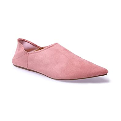 Et Suédine Babouches En Femme Sacs Chaussures La Modeuse PxAOYY