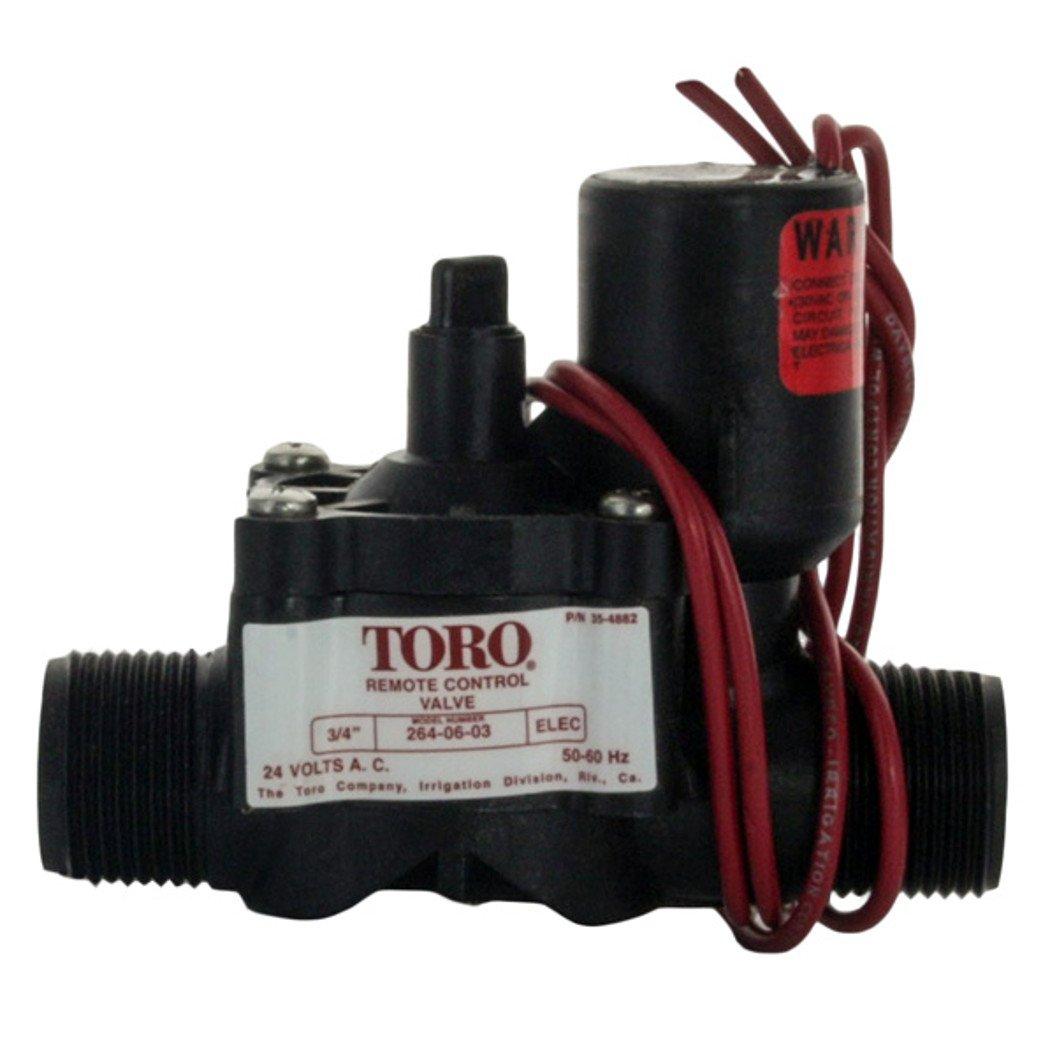 06 03 Neuf Toro /électrique 3//10,2/cm Valve de contr/ôle /à distance sans contr/ôle de flux 264