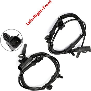 ZENITHIKE ABS Wheel Speed Sensor Left+Right+Front ALS2381 Compatible with 2012-2017 D-odge Grand Caravan 2012-2016 Town /& Country